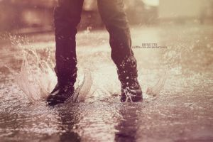 Dance in the Rain by M3LL0N-3M