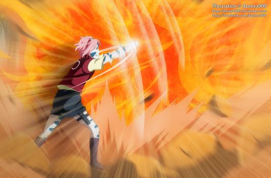 Commission - Sasuke Vs Sakura 2/12 by dannex009