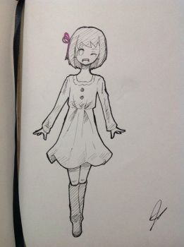Character Design for my proj! :) by Egg-Chan016