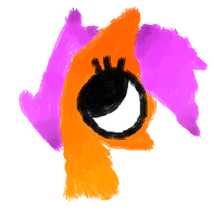 Scootaloo Lineless by PeppermintBowtie