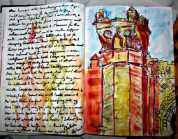 At the Kasbah gate  journal by michaelzer0