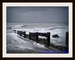 The Old Weathered Groynes by Cherry-Cheese-Cake