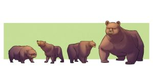 Beary Bears by TheAmoebic