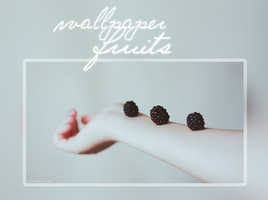 Wallpaper - fruits - littleprettyflowers by LittlePrettyFlowers