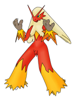 Blaziken, use Blaze...Kick. by squeezycheesecake