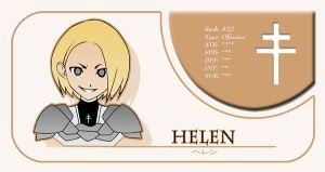 Helen Claymore Card by niwre-san