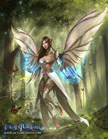 Ethereal Fairy by BABAGANOOSH99