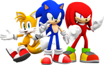 Team Sonic! by NIBROCrock