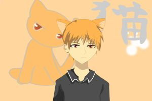 fruits basket kyo by Annachan123