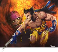 Wolverine by ted1air