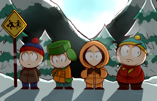 Southpark by wolfifi