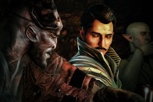 Dragon Age, An Ill-Considered Night After Drinking by thecannibalfactory