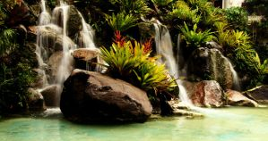 Tropical Falls by Essentium