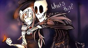 Scissor Mouth And Jack The Pumpkin King by DJambersky666