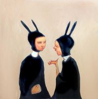 Rabbit Nuns by AngryBird