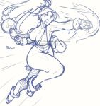 .10$SketchCommish_Mai Burning Kuckle. by MadiBlitz