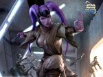 Force Throw by Artgerm