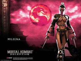 MKDeception: Mileena by LeoCreed