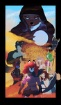 Vulpine Arc Poster by Skyverfox