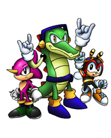 Classic Chaotix by SonicKnight007