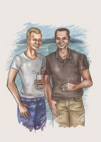 Dad and Craig by Neriah