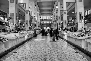 .:.The fish market.:. by Ailedda