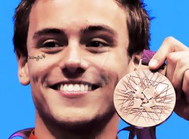 Tom Daley. by AnaCheckMyFlow