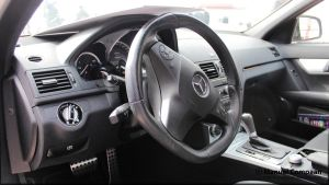 Mercedes C 63 AMG Interior by compaan-art