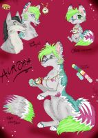 Aurora reference sheet by VampiraLady