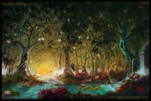 Magic Forest by Azot2015