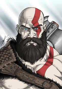 Kratos by Ronniesolano