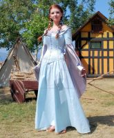 Medieval Gown and Corset by Cyberagent2009