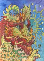 ACEO Dragon 26 by rachaelm5