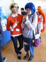 U-Con 2014- Hinata and Naruto by BloodKaika