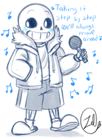 Undertale - Sans drop pop candy by zeldaprincessgirl100