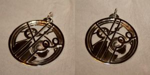 Gallifreyan Necklace by spacewarp