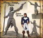 Maquette - James Hunter by Canadian-Rainwater