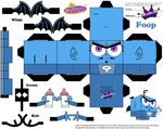 Cubeecraft of Foop the Anti-Fairy by SKGaleana