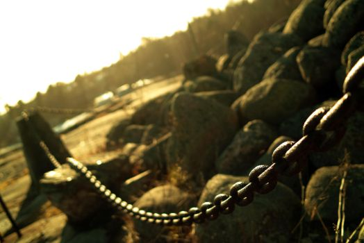 Chain Fence by fishpowered