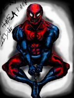 The dark side of Spider-Man by Apro1608