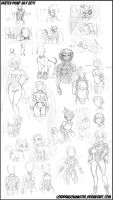 LDM Sketch dump July 2011 by Lorddragonmaster