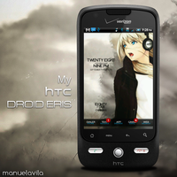Droid Eris Homescreen by manuelavila