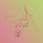 Magenta  Lime Whisp Fades by SpectralCanvasImages