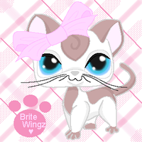 The Littlest Pet Shop AbbeyCat by BriteWingz