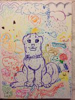 Puppy and Friends by Yellow-K9