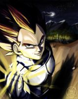 DBZ-Vegeta's outdoor trip by Goldman-Karee