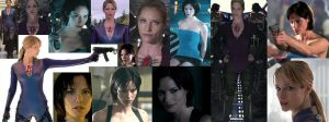 Sienna Guillory Jill Valentine by pisceslilly198524