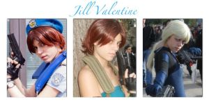 Jill Valentine collage by LittleRikku91