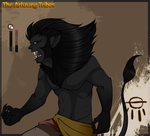 Ru the black lion. by Phoeberia