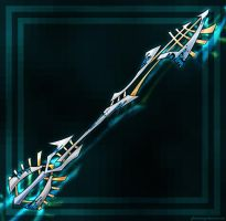 Keyblade: Alpha-Prototype by PhoenixTrooper